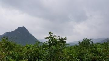 szczyt Rockpile - dawny amerykański punkt obserwacyjny