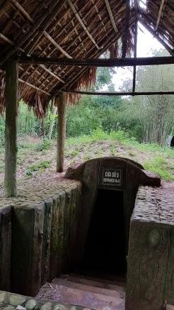 wejście do tunelów
