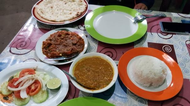 indyjska kolacja